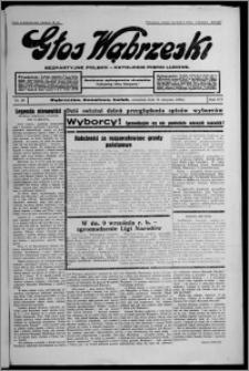 Głos Wąbrzeski : bezpartyjne polsko-katolickie pismo ludowe 1935.08.15, R. 16, nr 96