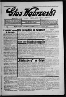 Głos Wąbrzeski : bezpartyjne polsko-katolickie pismo ludowe 1935.08.24, R. 16, nr 100
