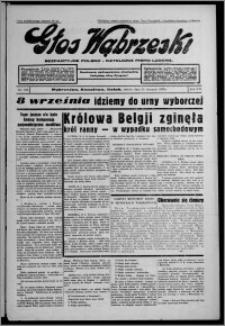 Głos Wąbrzeski : bezpartyjne polsko-katolickie pismo ludowe 1935.08.31, R. 16, nr 103