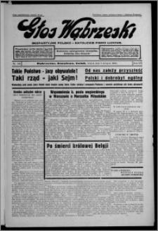Głos Wąbrzeski : bezpartyjne polsko-katolickie pismo ludowe 1935.09.03, R. 16, nr 104