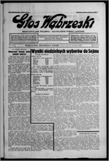 Głos Wąbrzeski : bezpartyjne polsko-katolickie pismo ludowe 1935.09.10, R. 16, nr 107