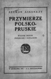 Przymierze polsko-pruskie