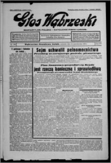Głos Wąbrzeski : bezpartyjne polsko-katolickie pismo ludowe 1935.10.31, R. 16, nr 129