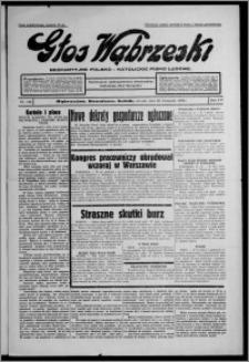 Głos Wąbrzeski : bezpartyjne polsko-katolickie pismo ludowe 1935.11.26, R. 16, nr 140