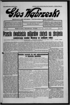 Głos Wąbrzeski : bezpartyjne polsko-katolickie pismo ludowe 1935.12.07, R. 16, nr 145