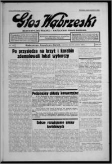 Głos Wąbrzeski : bezpartyjne polsko-katolickie pismo ludowe 1935.12.12, R. 16, nr 147
