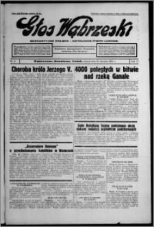 Głos Wąbrzeski : bezpartyjne polsko-katolickie pismo ludowe 1936.01.21, R. 17, nr 8