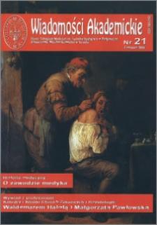 Wiadomości Akademickie 2006 nr 21
