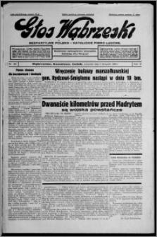 Głos Wąbrzeski : bezpartyjne polsko-katolickie pismo ludowe 1936.11.05, R. 17, nr 129