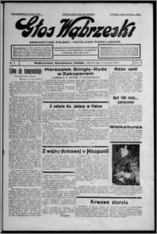 Głos Wąbrzeski : bezpartyjne polsko-katolickie pismo ludowe 1937.01.14, R. 18, nr 5