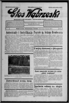 Głos Wąbrzeski : bezpartyjne polsko-katolickie pismo ludowe 1937.01.19, R. 18, nr 7