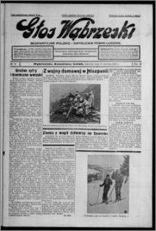 Głos Wąbrzeski : bezpartyjne polsko-katolickie pismo ludowe 1937.01.21, R. 18, nr 8
