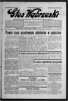 Głos Wąbrzeski : bezpartyjne polsko-katolickie pismo ludowe 1937.01.23, R. 18, nr 9