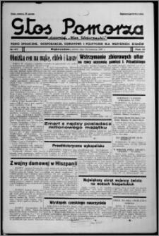 """Głos Pomorza : dawniej """"Głos Wąbrzeski"""" : pismo społeczne, gospodarcze, oświatowe i polityczne dla wszystkich stanów 1937.04.24, R. 19[!], nr 47"""
