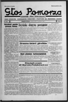 """Głos Pomorza : dawniej """"Głos Wąbrzeski"""" : pismo społeczne, gospodarcze, oświatowe i polityczne dla wszystkich stanów 1937.04.27, R. 19[!], nr 48"""