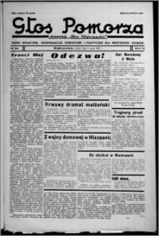 """Głos Pomorza : dawniej """"Głos Wąbrzeski"""" : pismo społeczne, gospodarcze, oświatowe i polityczne dla wszystkich stanów 1937.05.01, R. 19[!], nr 50 + Świat Kobiecy nr 8, Niedziela nr 18"""