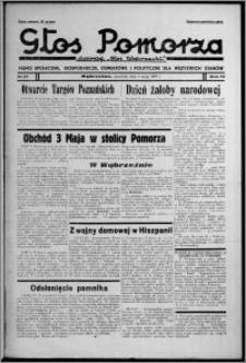 """Głos Pomorza : dawniej """"Głos Wąbrzeski"""" : pismo społeczne, gospodarcze, oświatowe i polityczne dla wszystkich stanów 1937.05.06, R. 19[!], nr 51"""