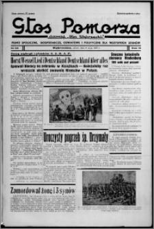 """Głos Pomorza : dawniej """"Głos Wąbrzeski"""" : pismo społeczne, gospodarcze, oświatowe i polityczne dla wszystkich stanów 1937.05.08, R. 19[!], nr 52 + Świat Kobiecy nr 9, Niedziela nr 19"""