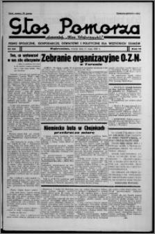 """Głos Pomorza : dawniej """"Głos Wąbrzeski"""" : pismo społeczne, gospodarcze, oświatowe i polityczne dla wszystkich stanów 1937.05.11, R. 19[!], nr 53"""