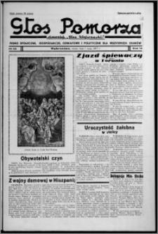 """Głos Pomorza : dawniej """"Głos Wąbrzeski"""" : pismo społeczne, gospodarcze, oświatowe i polityczne dla wszystkich stanów 1937.05.01 [i.e. 1937.05.15], R. 19[!], nr 55 + Świat Kobiecy nr 10, Niedziela nr 20"""