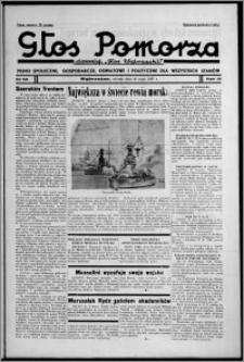 """Głos Pomorza : dawniej """"Głos Wąbrzeski"""" : pismo społeczne, gospodarcze, oświatowe i polityczne dla wszystkich stanów 1937.05.25, R. 19[!], nr 58"""