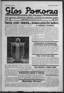 """Głos Pomorza : dawniej """"Głos Wąbrzeski"""" : pismo społeczne, gospodarcze, oświatowe i polityczne dla wszystkich stanów 1937.05.27, R. 19[!], nr 59"""