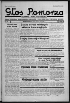 """Głos Pomorza : dawniej """"Głos Wąbrzeski"""" : pismo społeczne, gospodarcze, oświatowe i polityczne dla wszystkich stanów 1937.05.29, R. 19[!], nr 60 + Świat Kobiecy nr 11, Niedziela nr 22"""