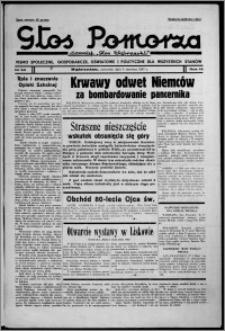 """Głos Pomorza : dawniej """"Głos Wąbrzeski"""" : pismo społeczne, gospodarcze, oświatowe i polityczne dla wszystkich stanów 1937.06.03, R. 19[!], nr 62"""