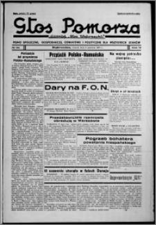 """Głos Pomorza : dawniej """"Głos Wąbrzeski"""" : pismo społeczne, gospodarcze, oświatowe i polityczne dla wszystkich stanów 1937.06.08, R. 19[!], nr 64"""