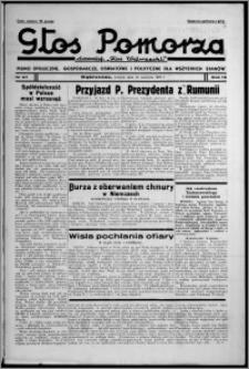 """Głos Pomorza : dawniej """"Głos Wąbrzeski"""" : pismo społeczne, gospodarcze, oświatowe i polityczne dla wszystkich stanów 1937.06.15, R. 19[!], nr 67"""