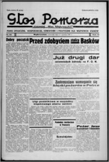 """Głos Pomorza : dawniej """"Głos Wąbrzeski"""" : pismo społeczne, gospodarcze, oświatowe i polityczne dla wszystkich stanów 1937.06.17, R. 19[!], nr 68"""
