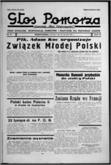 """Głos Pomorza : dawniej """"Głos Wąbrzeski"""" : pismo społeczne, gospodarcze, oświatowe i polityczne dla wszystkich stanów 1937.06.24, R. 19[!], nr 71"""