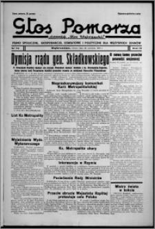 """Głos Pomorza : dawniej """"Głos Wąbrzeski"""" : pismo społeczne, gospodarcze, oświatowe i polityczne dla wszystkich stanów 1937.06.26, R. 19[!], nr 72 + Niedziela nr 26"""
