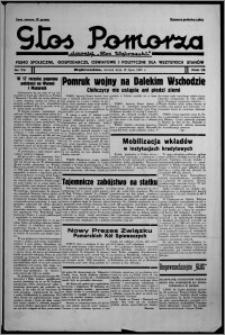 """Głos Pomorza : dawniej """"Głos Wąbrzeski"""" : pismo społeczne, gospodarcze, oświatowe i polityczne dla wszystkich stanów 1937.07.13, R. 19[!], nr 79"""
