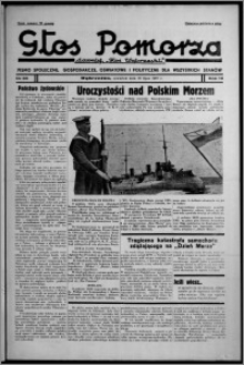 """Głos Pomorza : dawniej """"Głos Wąbrzeski"""" : pismo społeczne, gospodarcze, oświatowe i polityczne dla wszystkich stanów 1937.07.15, R. 19[!], nr 80"""