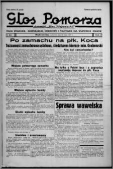 """Głos Pomorza : dawniej """"Głos Wąbrzeski"""" : pismo społeczne, gospodarcze, oświatowe i polityczne dla wszystkich stanów 1937.07.22, R. 19[!], nr 83"""