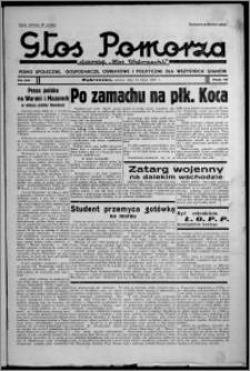 """Głos Pomorza : dawniej """"Głos Wąbrzeski"""" : pismo społeczne, gospodarcze, oświatowe i polityczne dla wszystkich stanów 1937.07.24, R. 19[!], nr 84 + Niedziela nr 29[!]"""