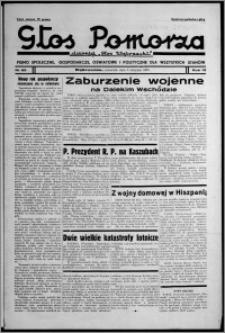 """Głos Pomorza : dawniej """"Głos Wąbrzeski"""" : pismo społeczne, gospodarcze, oświatowe i polityczne dla wszystkich stanów 1937.08.05, R. 19[!], nr 89"""