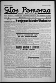 """Głos Pomorza : dawniej """"Głos Wąbrzeski"""" : pismo społeczne, gospodarcze, oświatowe i polityczne dla wszystkich stanów 1937.08.07, R. 19[!], nr 90 + Niedziela nr 31"""