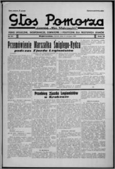 """Głos Pomorza : dawniej """"Głos Wąbrzeski"""" : pismo społeczne, gospodarcze, oświatowe i polityczne dla wszystkich stanów 1937.08.10, R. 19[!], nr 91"""