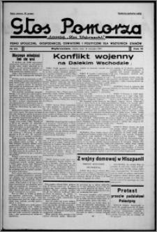 """Głos Pomorza : dawniej """"Głos Wąbrzeski"""" : pismo społeczne, gospodarcze, oświatowe i polityczne dla wszystkich stanów 1937.08.14, R. 19[!], nr 93 + Niedziela nr 32"""