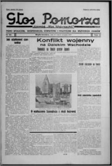 """Głos Pomorza : dawniej """"Głos Wąbrzeski"""" : pismo społeczne, gospodarcze, oświatowe i polityczne dla wszystkich stanów 1937.08.21, R. 19[!], nr 96 + Niedziela nr 33"""
