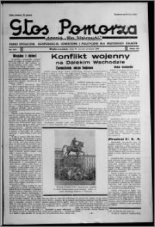 """Głos Pomorza : dawniej """"Głos Wąbrzeski"""" : pismo społeczne, gospodarcze, oświatowe i polityczne dla wszystkich stanów 1937.08.24, R. 19[!], nr 97"""