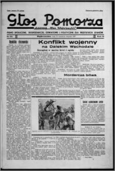 """Głos Pomorza : dawniej """"Głos Wąbrzeski"""" : pismo społeczne, gospodarcze, oświatowe i polityczne dla wszystkich stanów 1937.08.26, R. 19[!], nr 98"""