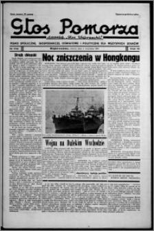 """Głos Pomorza : dawniej """"Głos Wąbrzeski"""" : pismo społeczne, gospodarcze, oświatowe i polityczne dla wszystkich stanów 1937.09.04, R. 19[!], nr 102 + Niedziela nr 35"""