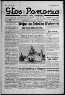 """Głos Pomorza : dawniej """"Głos Wąbrzeski"""" : pismo społeczne, gospodarcze, oświatowe i polityczne dla wszystkich stanów 1937.09.07, R. 19[!], nr 103"""