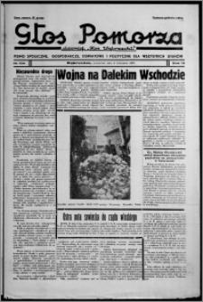 """Głos Pomorza : dawniej """"Głos Wąbrzeski"""" : pismo społeczne, gospodarcze, oświatowe i polityczne dla wszystkich stanów 1937.09.09, R. 19[!], nr 104"""