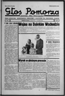 """Głos Pomorza : dawniej """"Głos Wąbrzeski"""" : pismo społeczne, gospodarcze, oświatowe i polityczne dla wszystkich stanów 1937.09.11, R. 19[!], nr 105 + Niedziela nr 63 [i.e. 36]"""