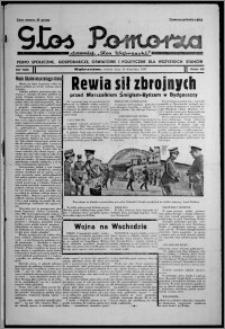 """Głos Pomorza : dawniej """"Głos Wąbrzeski"""" : pismo społeczne, gospodarcze, oświatowe i polityczne dla wszystkich stanów 1937.09.18, R. 19[!], nr 108 + Niedziela nr 37"""