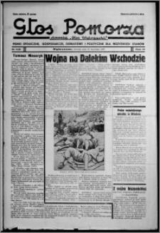 """Głos Pomorza : dawniej """"Głos Wąbrzeski"""" : pismo społeczne, gospodarcze, oświatowe i polityczne dla wszystkich stanów 1937.09.21, R. 19[!], nr 109"""